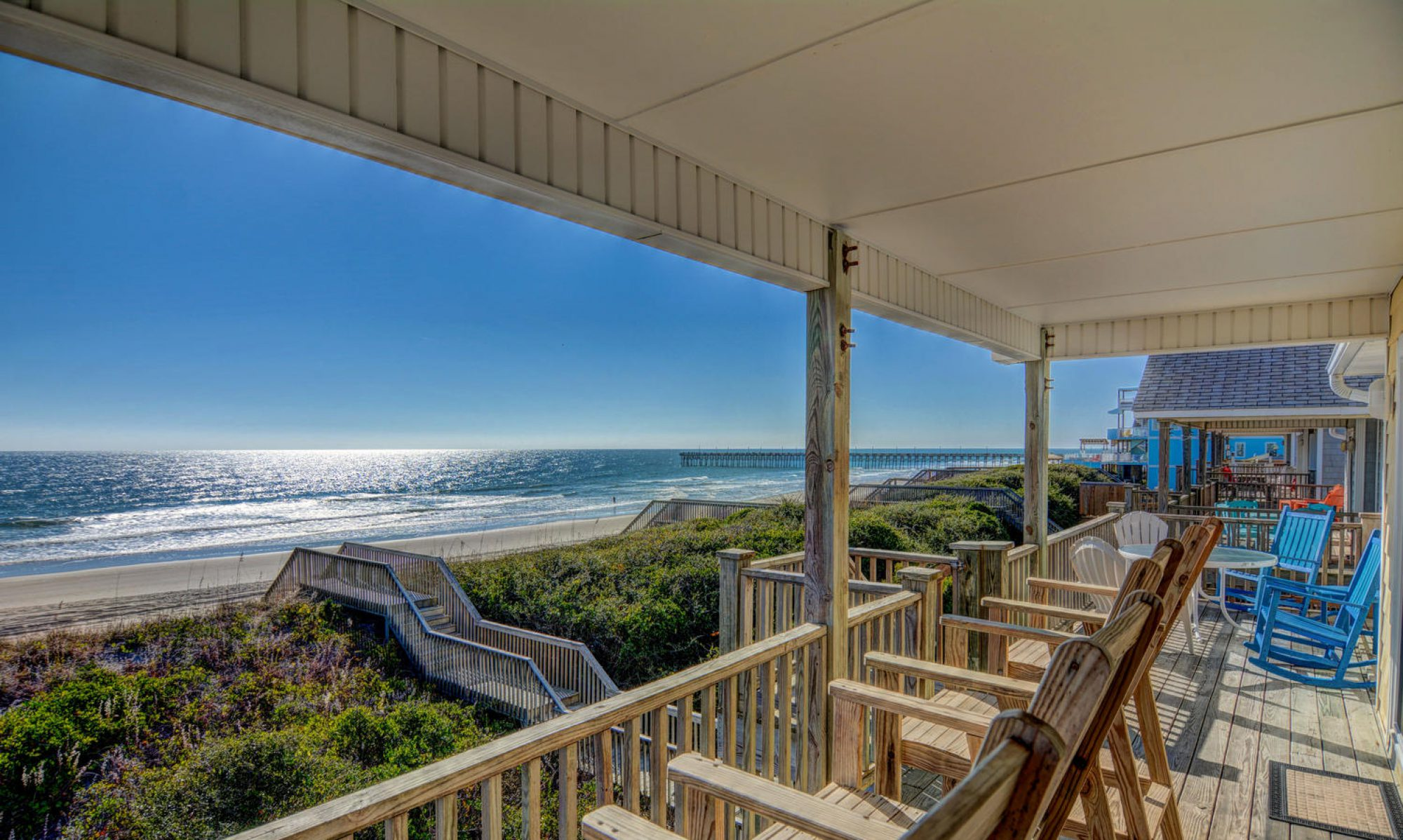 Oceanfront Homes For Rent In Topsail Island Nc